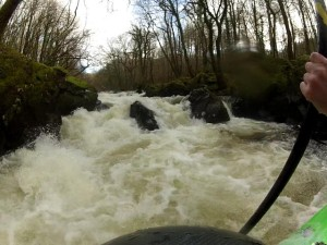 A rapid on the River Wnion
